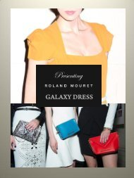 Roland Mouret Signature Galaxy Collection