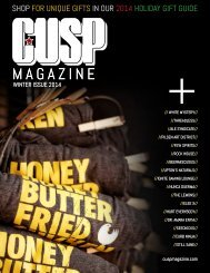 CUSP Magazine: Winter Issue 2014