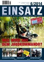 Einsatz 6/2014 Dezember, Magazin für Sicherheit, Wirtschaft und Sport