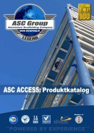 ASC Deutschland Produkt / Preiskatalog