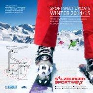 Sportwelt Update Winter 2014/15