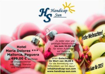 Hotel Maria Dolores *** Mallorca, Paguera, 1 Woche im DZ ab 499,00 €