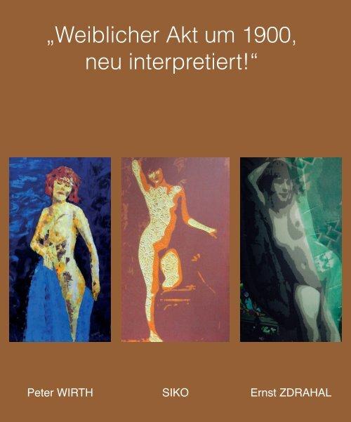 """""""Weiblicher Akt um 1900, neu interpretiert!"""""""