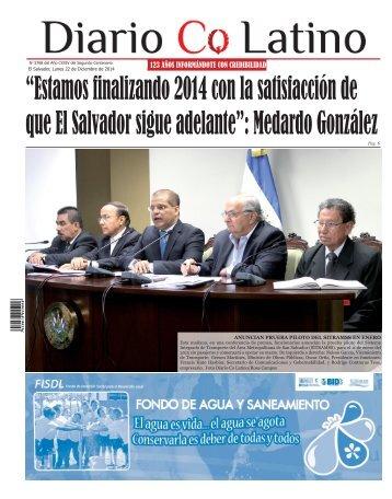 Edición 22 de Diciembre 2014
