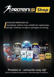 Proteini d.o.o. - Katalog proizvoda