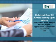 Research Report on Global and China Oil furnace cleaning agent Industry Market Research,Size,Share 2014