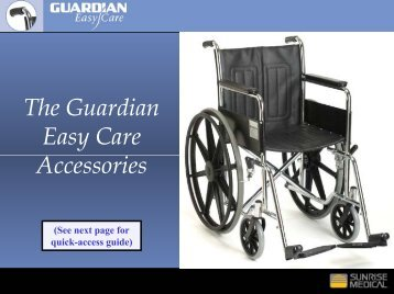 The Guardian Easy Care Accessories