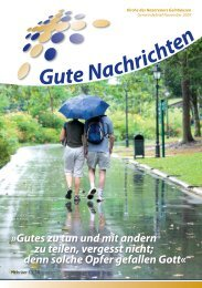 Gute Nachrichten November (PDF, 2,60 MB) - KdN Gelnhausen