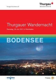 Thurgauer Wandernacht - Schweizer Wandernacht
