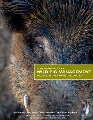 WILD PIG MANAGEMENT - Florida Fish and Wildlife Conservation ...
