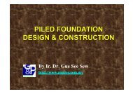 Piled Foundation Design and Construction - Gnpgeo.com.my