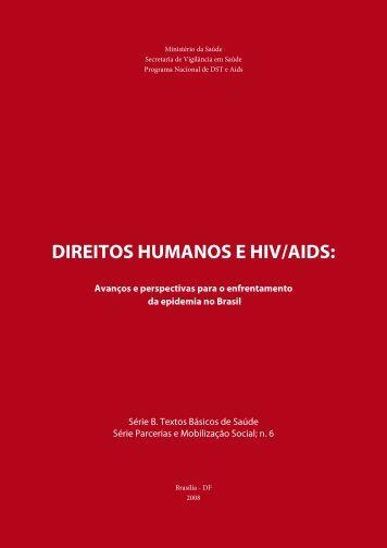 Direitos humanos e hiV/aiDs: - Cedaps