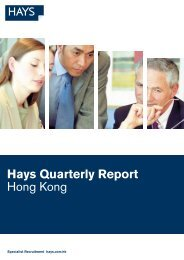 Hays Quarterly Report Hong Kong - CTgoodjobs.hk