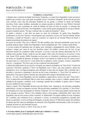 Apostila 2 de Português | Baixe aqui - liceu.net