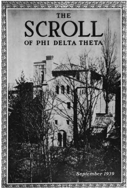 193940 Volume 64 No 15 Phi Delta Theta Scroll Archive