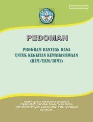 Program Bantuan Dana Untuk Kegiatan Kemahasiswaan
