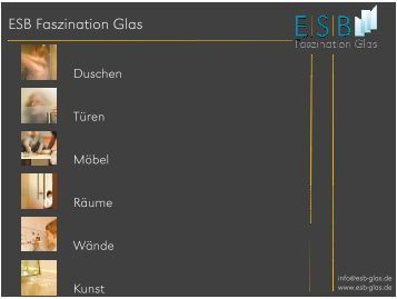 Glas in der Küche - ESB GmbH