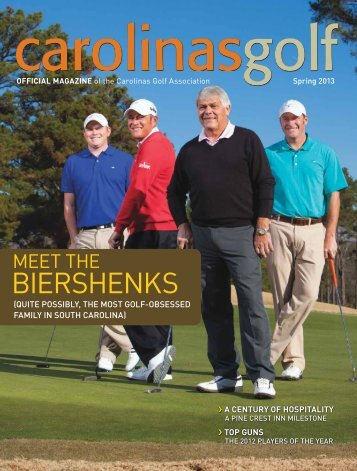 Spring 2013 - Carolinas Golf Association