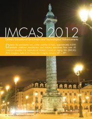 The European Aesthetic Guide - Spring 2012 issue - IMCAS
