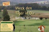Golf-Tipps für Einsteiger - Golf-Handschuhe