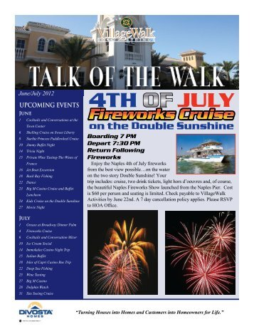 June/July - Village Walk of Bonita Springs