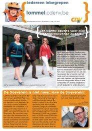lommel.cdenv.be - Limburg - CD&V