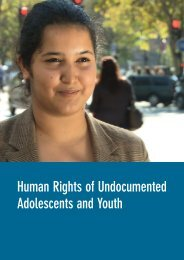 Human Rights of Undocumented Adolescents and Youth - Global ...