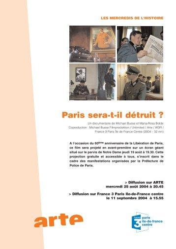 Paris sera-t-il détruit ? - unlimited-films.net