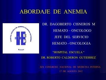 Diapositiva 1 - Revista de Medicina Interna de AMICAC