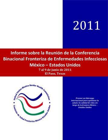 Conferencia Binacional Fronteriza de Enfermedades Infecciosas ...