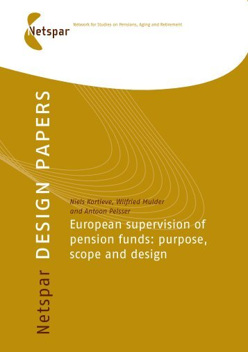European Supervision of Pension Funds - Organisation for ...