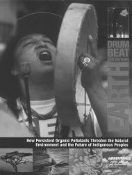 Drumbeat For Mother Earth - Study Guide - Bullfrog Films