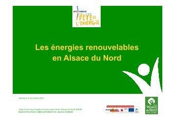 présentation de la soirée - Alsace du Nord