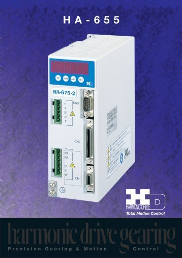 HA-655 Series - Harmonic Drive LLC