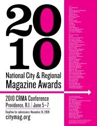 10National City & Regional - City and Regional Magazine Association