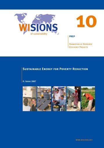 Sustainable Energy for Poverty Reduction - WISIONS of Sustainability