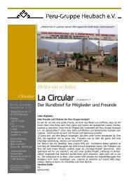 La Circular el numero 3 - peru-gruppe heubach ev