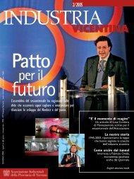 Industria Vicentina 2-2005.pdf - Associazione Industriali della ...