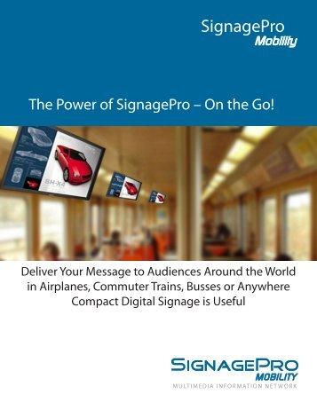 Signage Pro Mobility Player - SmartAVI