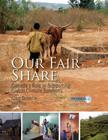 Our Fair Share - Climate Action Network Canada