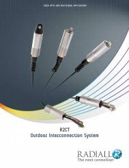 R2CT Outdoor Interconnection System