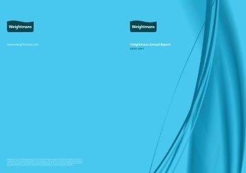 Weightmans Annual Report 2010-2011 - Weightmans Solicitors