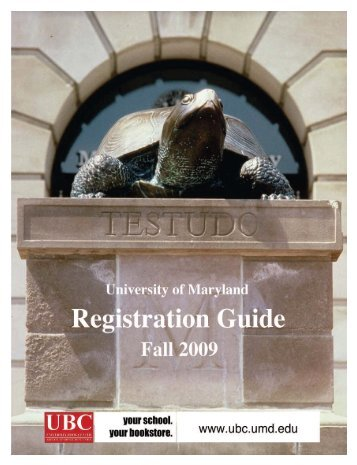 Registration Guide - Project Management at the University Of ...