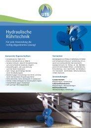 Hydraulische Rührtechnik (PDF) - UTS Biogas