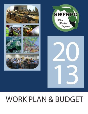2013 Workplan & Budget - Southwest Florida Regional Planning ...