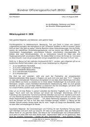 Bündner Offiziersgesellschaft (BOG)