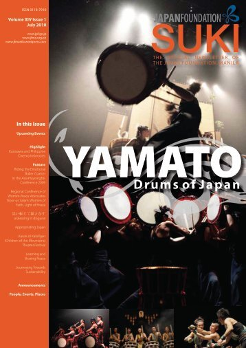 Drums of Japan - The Japan Foundation, Manila