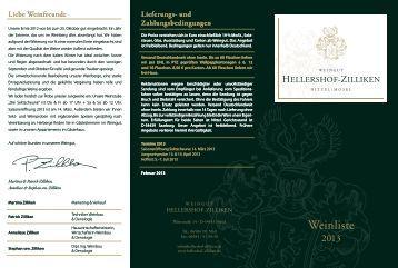 Lieferungs - Weingut Hellershof-Zilliken
