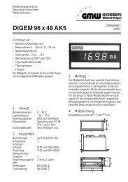 DIGEM 96 x 48 AK5