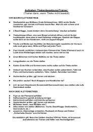 Aufgaben Thekenbesetzung/Trainer - Hochseilgarten Ammersee